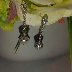 BRIGHTON ATMA PEARL DROP EARRINGS